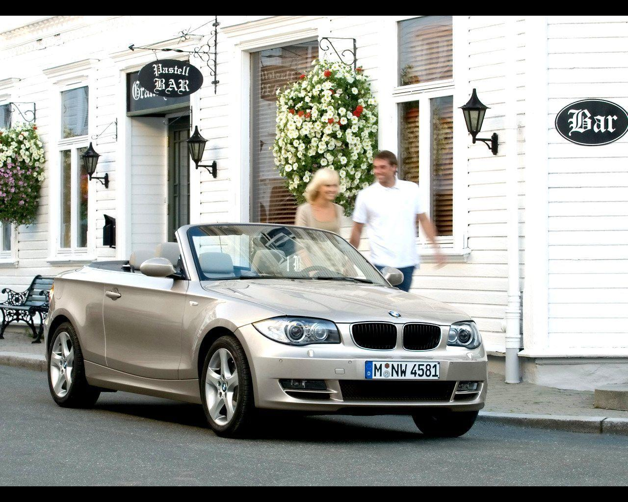 2008 BMW 1 Series Convertible Wallpaper 15 - 1280x1024