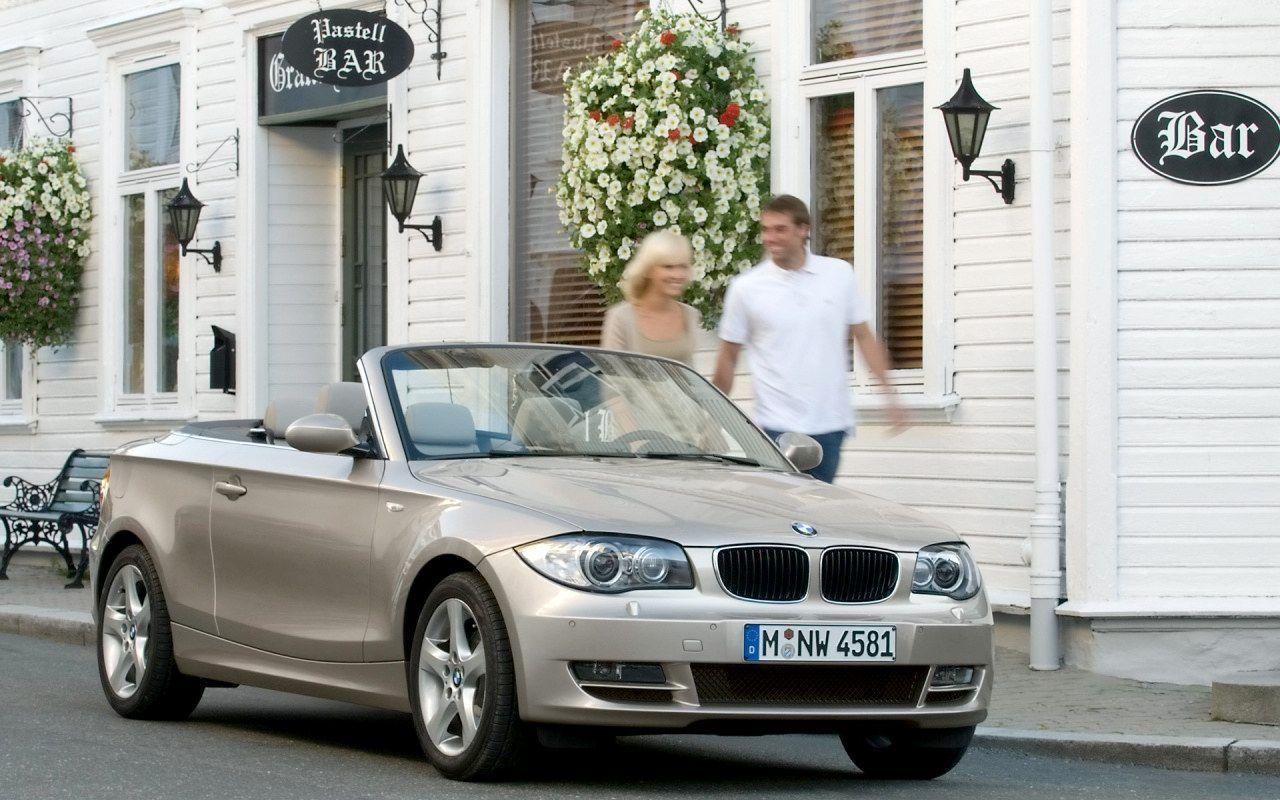 2008 BMW 1 Series Convertible Wallpaper 15 - 1280x800